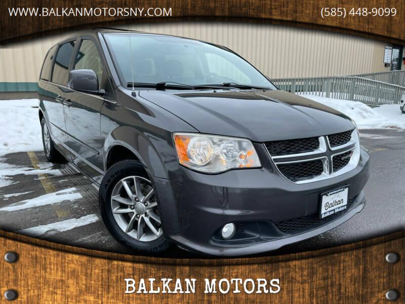 2014 Dodge Grand Caravan for sale at BALKAN MOTORS in East Rochester NY