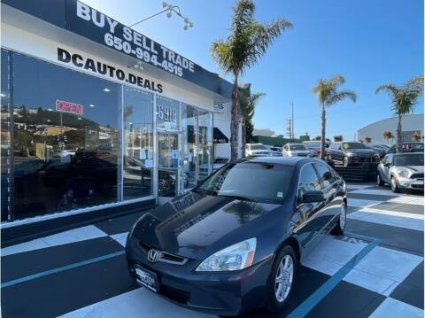 2003 Honda Accord for sale at AutoDeals in Daly City CA