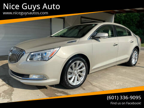 2015 Buick LaCrosse for sale at Nice Guys Auto in Hattiesburg MS