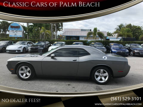 2012 Dodge Challenger for sale at Classic Cars of Palm Beach in Jupiter FL