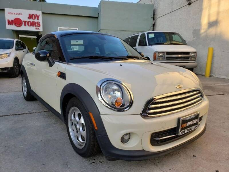 2013 MINI Coupe for sale at Joy Motors in Los Angeles CA