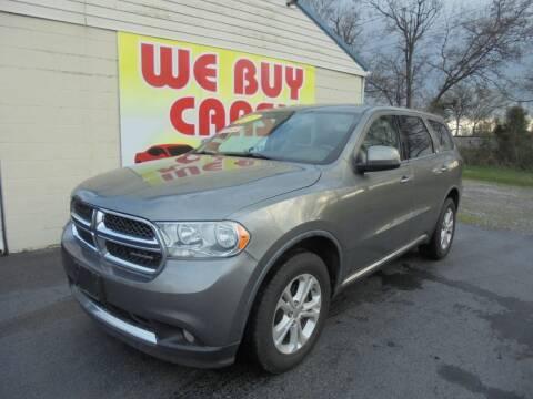 2012 Dodge Durango for sale at Right Price Auto Sales in Murfreesboro TN