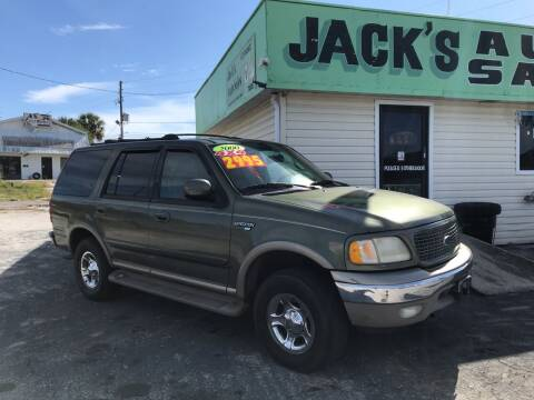 2000 Ford Expedition for sale at Jack's Auto Sales in Port Richey FL