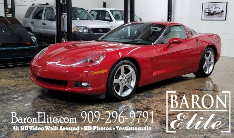 2005 Chevrolet Corvette for sale at Baron Elite in Upland CA