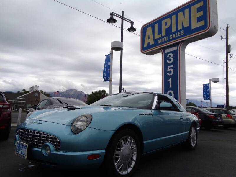 2002 Ford Thunderbird for sale at Alpine Auto Sales in Salt Lake City UT