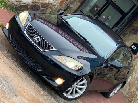 2007 Lexus IS 250 for sale at Atlanta Prestige Motors in Decatur GA