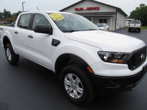 2020 Ford Ranger for sale at Thompson Motors LLC in Attica NY