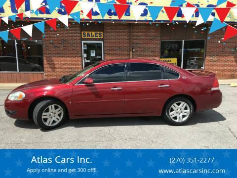 2007 Chevrolet Impala for sale at Atlas Cars Inc. - Elizabethtown Lot in Elizabethtown KY