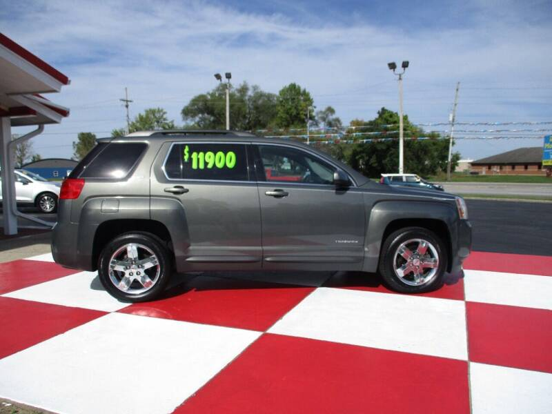 2013 GMC Terrain for sale at TEAM ANDERSON AUTO GROUP INC in Richmond IN
