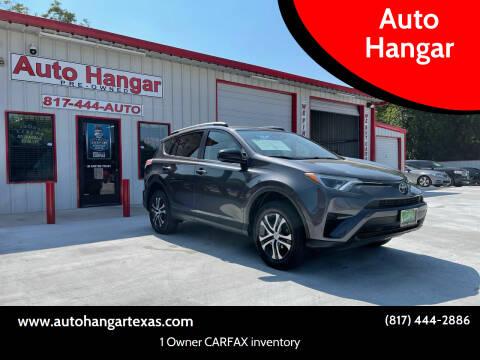 2017 Toyota RAV4 for sale at Auto Hangar in Azle TX