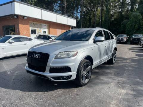 2013 Audi Q7 for sale at Magic Motors Inc. in Snellville GA