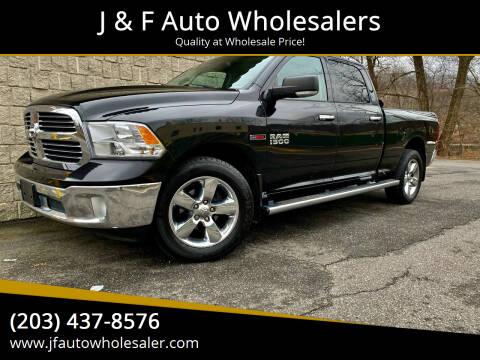 2015 RAM Ram Pickup 1500 for sale at J & F Auto Wholesalers in Waterbury CT