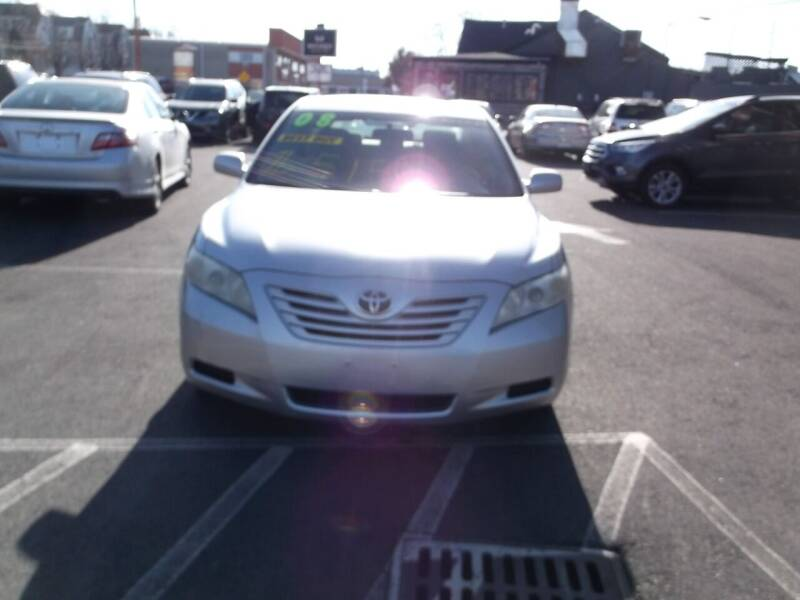 2008 Toyota Camry for sale at Sharp Auto Center in Worcester MA