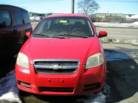 2007 Chevrolet Aveo for sale at ZJ's Custom Auto Inc. in Roseville MI