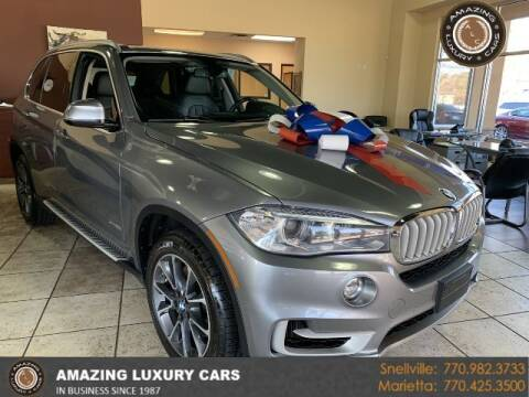 2014 BMW X5 for sale at Amazing Luxury Cars in Snellville GA