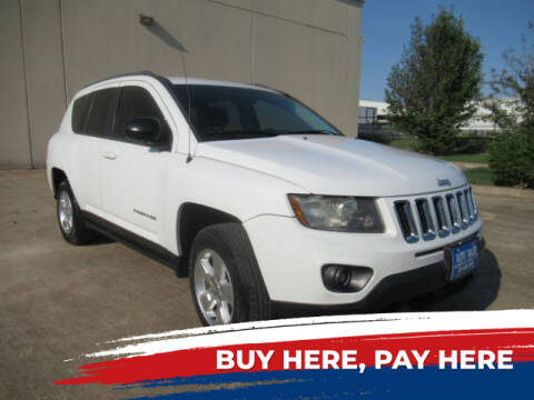 2014 Jeep Compass for sale at AUTO VALUE FINANCE INC in Stafford TX