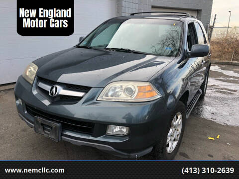 2006 Acura MDX for sale at New England Motor Cars in Springfield MA