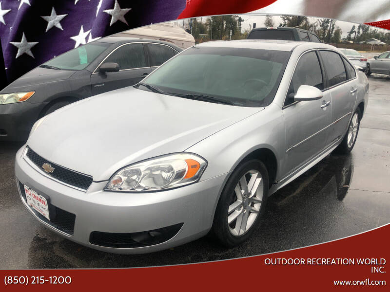 2012 Chevrolet Impala for sale at Outdoor Recreation World Inc. in Panama City FL
