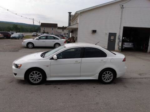2012 Mitsubishi Lancer for sale at ROUTE 119 AUTO SALES & SVC in Homer City PA
