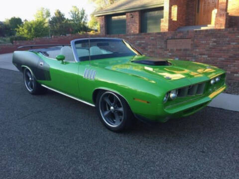 1971 Plymouth Barracuda for sale at Hines Auto Sales in Marlette MI