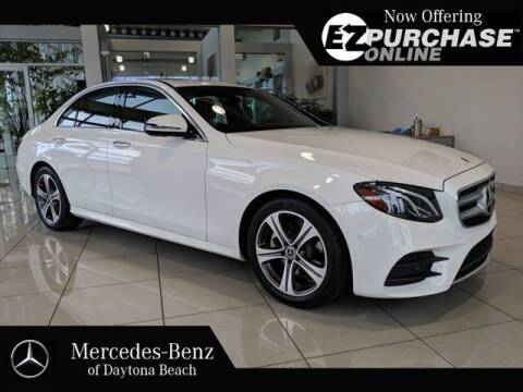 2019 Mercedes-Benz E-Class for sale at Mercedes-Benz of Daytona Beach in Daytona Beach FL