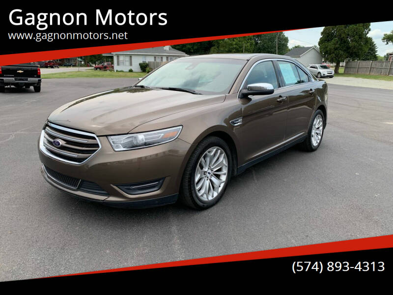 2015 Ford Taurus for sale at Gagnon  Motors - Gagnon Motors in Akron IN