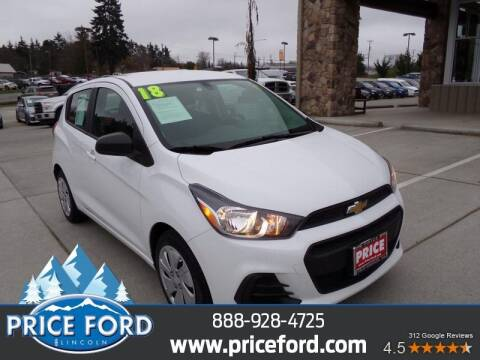 2018 Chevrolet Spark for sale at Price Ford Lincoln in Port Angeles WA