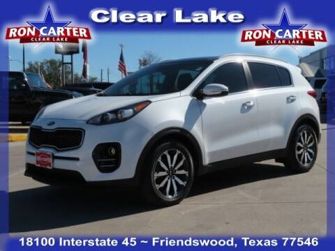2017 Kia Sportage for sale at Ron Carter  Clear Lake Used Cars in Houston TX