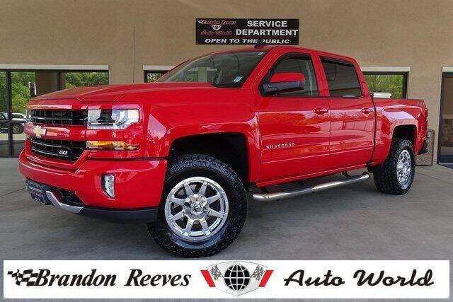 2018 Chevrolet Silverado 1500 for sale at Brandon Reeves Auto World in Monroe NC