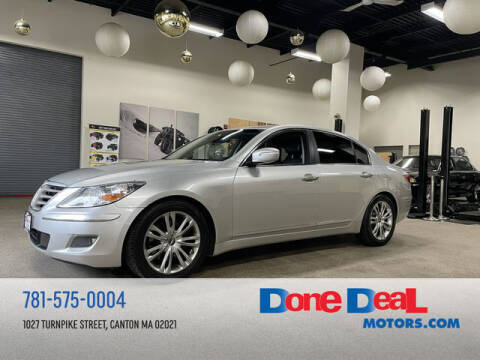 2011 Hyundai Genesis for sale at DONE DEAL MOTORS in Canton MA