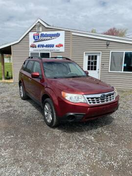 2012 Subaru Forester for sale at ROUTE 11 MOTOR SPORTS in Central Square NY