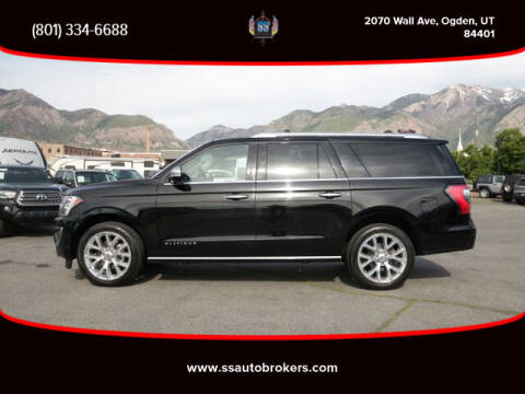 2018 Ford Expedition MAX for sale at S S Auto Brokers in Ogden UT