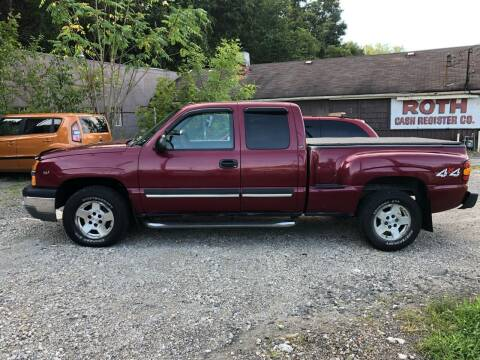 2004 Chevrolet Silverado 1500 for sale at Compact Cars of Pittsburgh in Pittsburgh PA