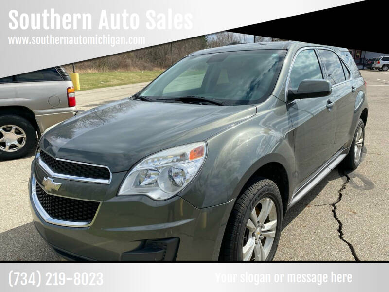 2013 Chevrolet Equinox for sale at Southern Auto Sales in Clinton MI