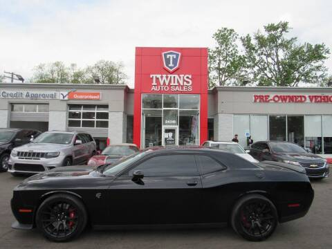 2016 Dodge Challenger for sale at Twins Auto Sales Inc in Detroit MI
