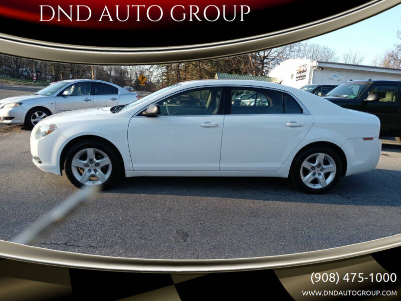 2009 Chevrolet Malibu for sale at DND AUTO GROUP 2 in Asbury NJ