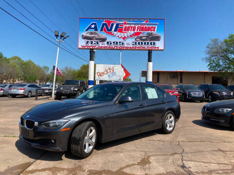 2015 BMW 3 Series for sale at ANF AUTO FINANCE in Houston TX