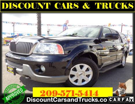2003 Lincoln Navigator for sale at Discount Cars & Trucks in Modesto CA