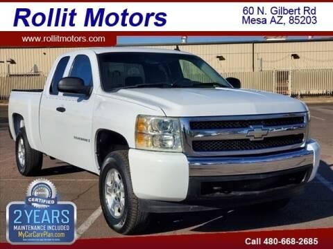2008 Chevrolet Silverado 1500 for sale at Rollit Motors in Mesa AZ