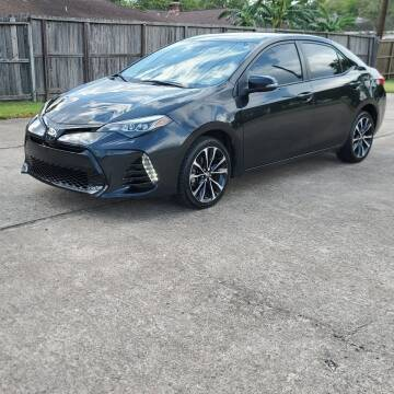 2018 Toyota Corolla for sale at MOTORSPORTS IMPORTS in Houston TX