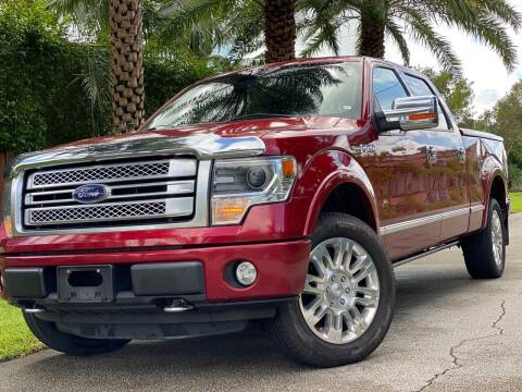 2013 Ford F-150 for sale at HIGH PERFORMANCE MOTORS in Hollywood FL