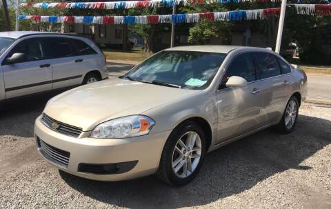 2008 Chevrolet Impala for sale at Antique Motors in Plymouth IN