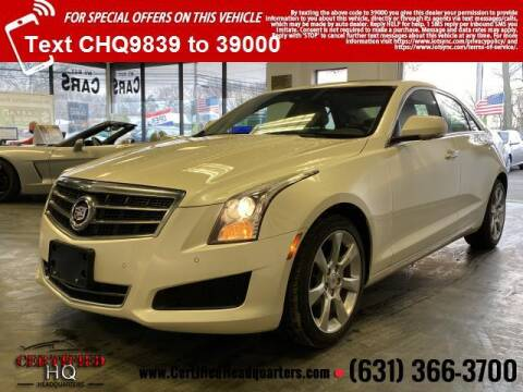 2014 Cadillac ATS for sale at CERTIFIED HEADQUARTERS in St James NY