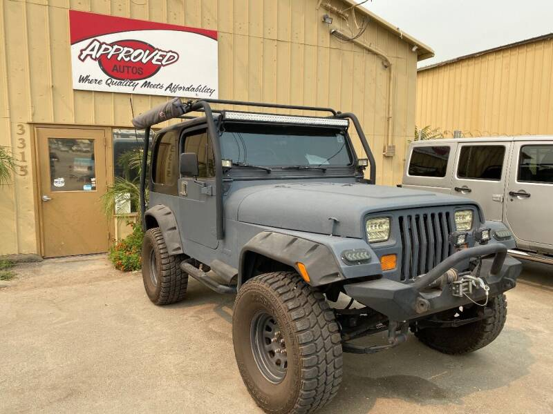 1995 Jeep Wrangler for sale at Approved Autos in Bakersfield CA