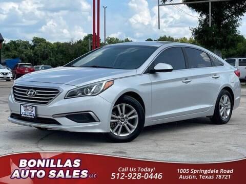 2016 Hyundai Sonata for sale at Bonillas Auto Sales in Austin TX