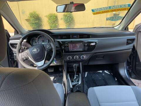 2016 Toyota Corolla for sale at Autodealz of Fresno in Fresno CA