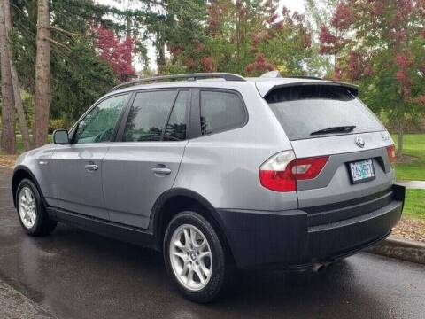 2004 BMW X3 for sale at CLEAR CHOICE AUTOMOTIVE in Milwaukie OR