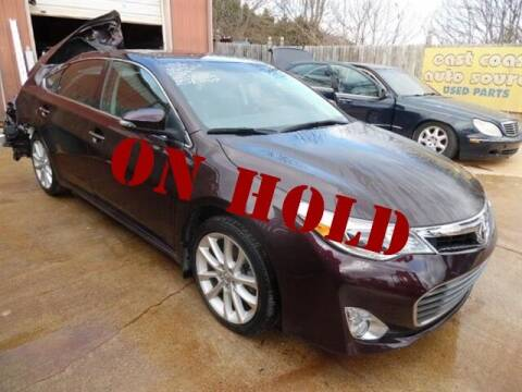 2013 Toyota Avalon for sale at East Coast Auto Source Inc. in Bedford VA