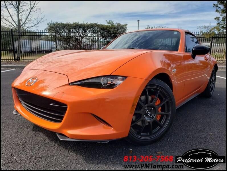 2019 Mazda MX-5 Miata RF for sale at PREFERRED MOTORS in Tampa FL