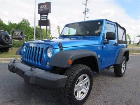 2015 Jeep Wrangler for sale at J T Auto Group in Sanford NC
